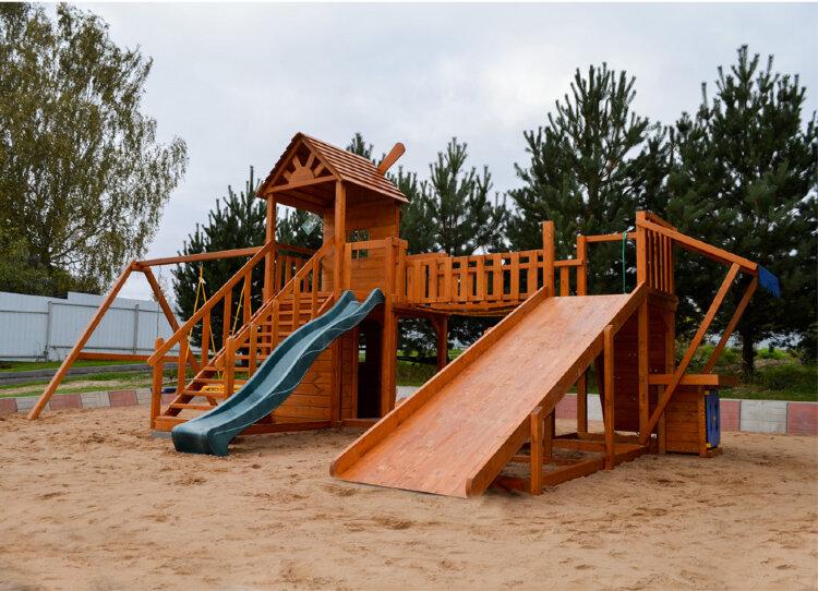 Универсальная детская площадка Мельница м10