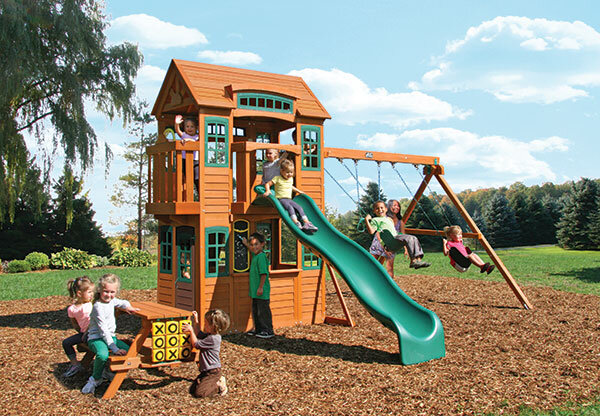 Детская игровая площадка Кедровый замок